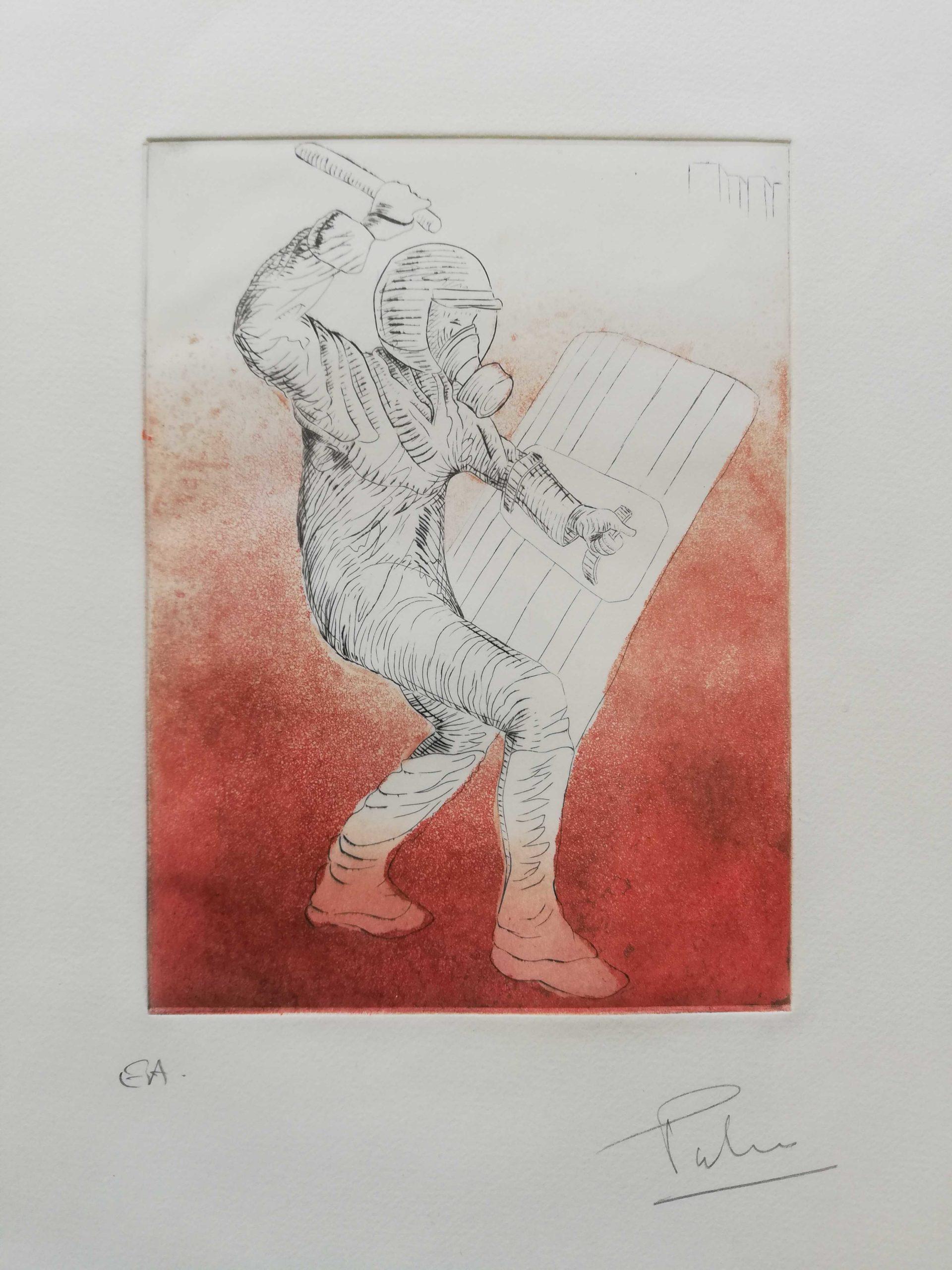 Force de l'ordre engrave by Michel Puharré 2014