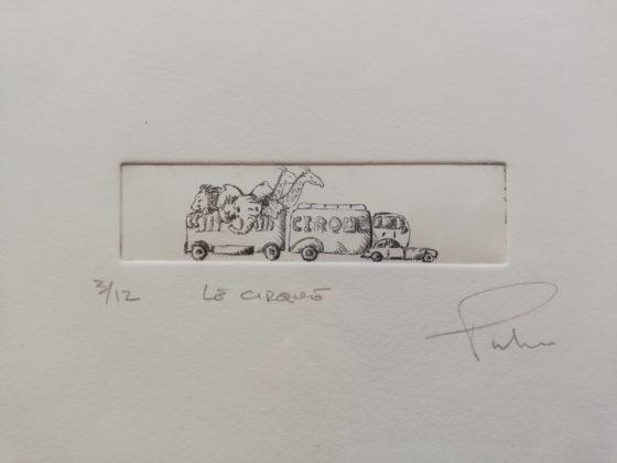 Le cirque engrave by Michel Puharré 2013