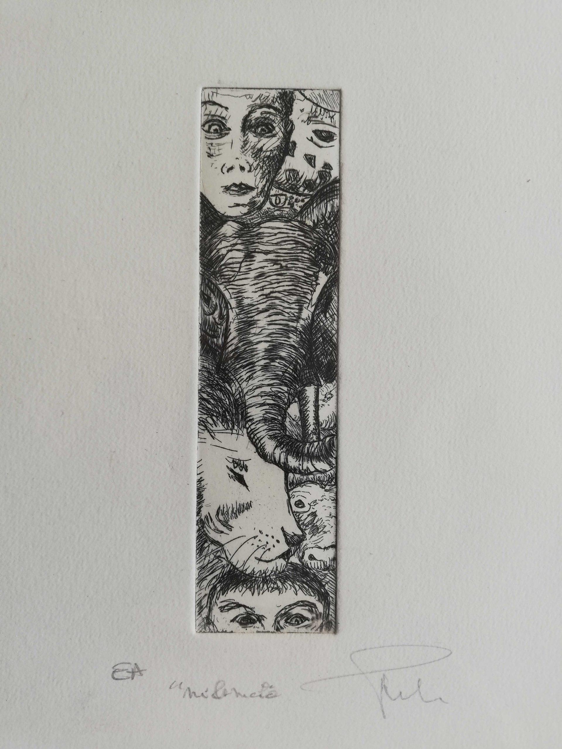 Meli-Mélo engrave by Michel Puharré 2014