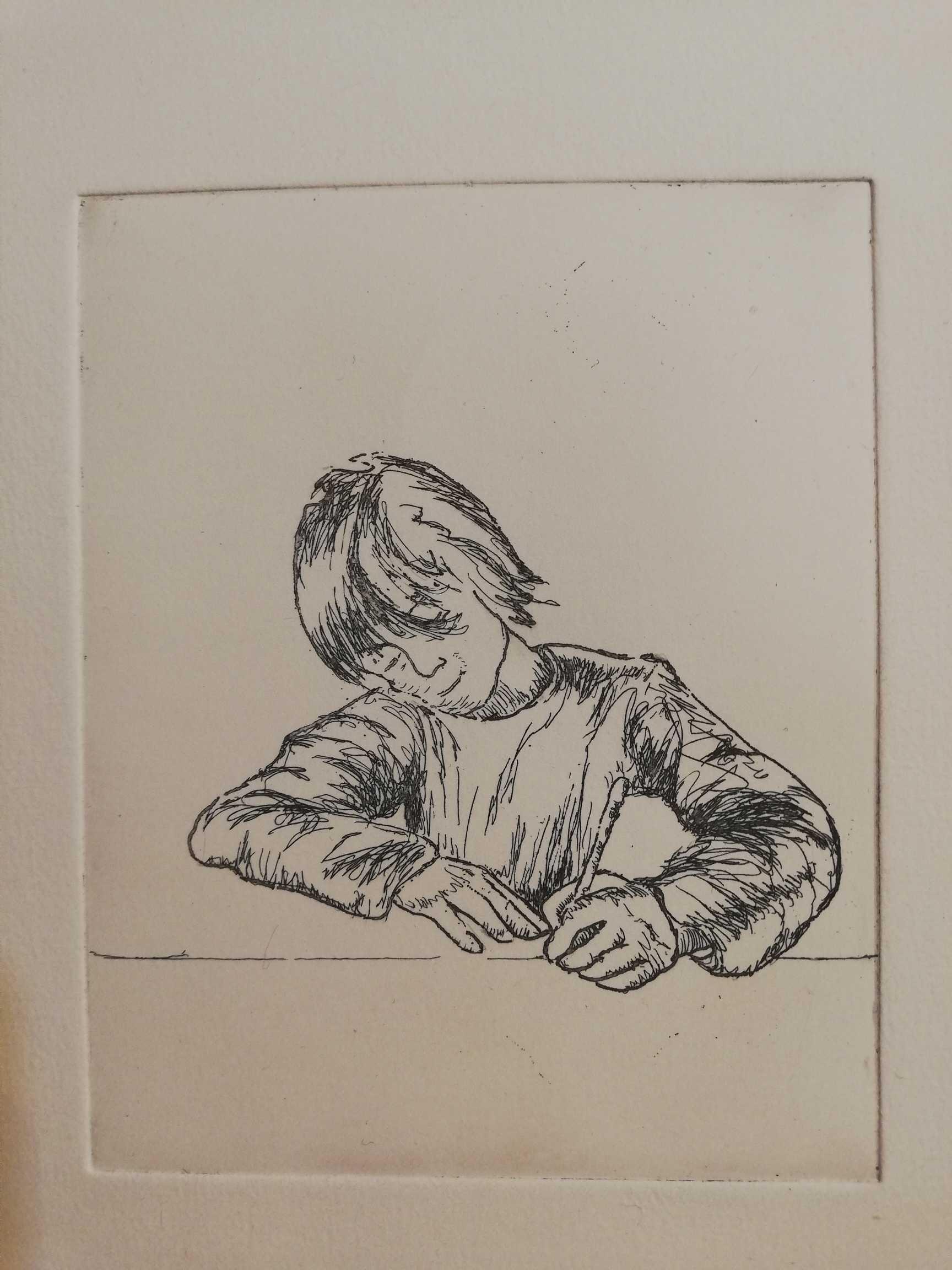 Trace Blanche engrave by Michel Puharré 2015